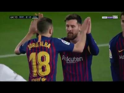 Barcelona vs Valencia 2-2  Football Highlights and Goals 2019