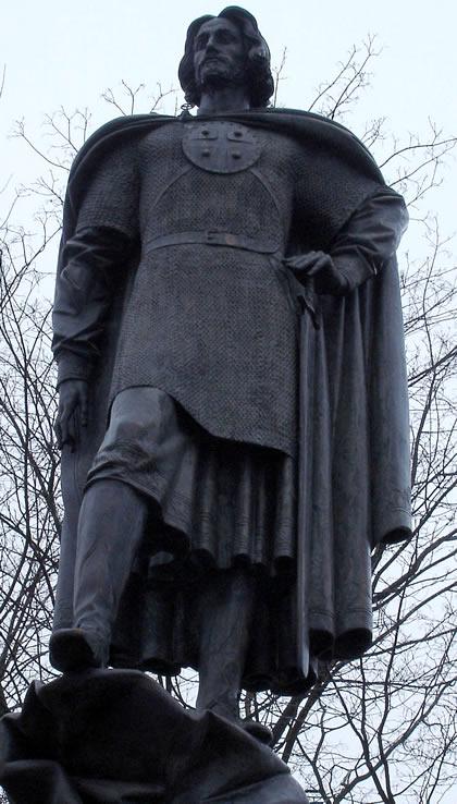 Alexander Nevsky Statue