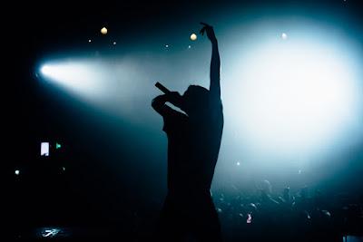 Sigur Ros en pleno concierto, una de las bandas más famosas de Islandia