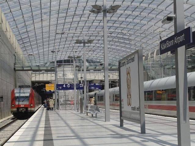 Estação de trem em Colônia