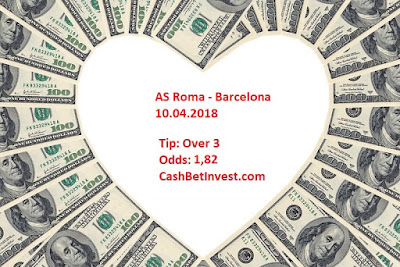 AS Roma - Barcelona 10.09.2018 - Cash Bet Invest