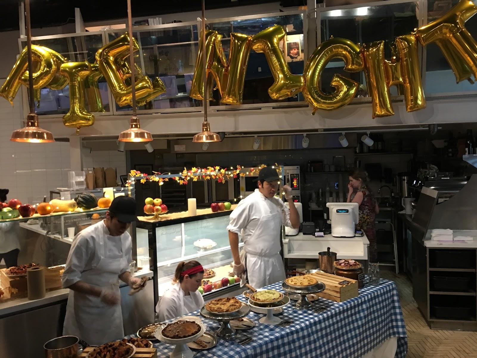 pie night at dominique ansel kitchen - Dominique Ansel Kitchen