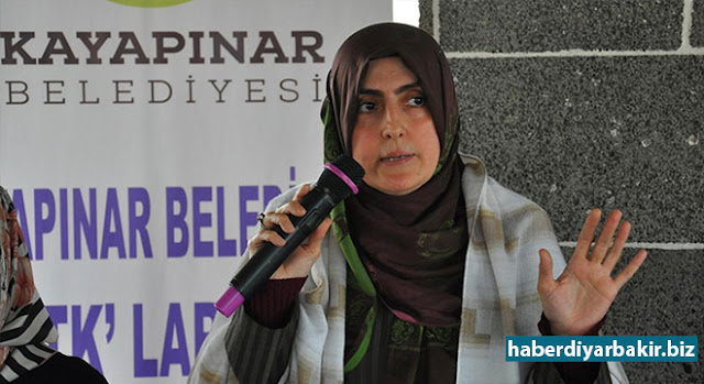 DIYARBAKIR-In Diyarbakir, the Deputy Mayor of Kayapınar, who came together with the women representatives of the NGOs, noted that DBP's subversion projects in the cultural centers that elements were tired to recruit for PKK and that they were trying to impose homosexuality.