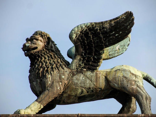 Lion on Column, PIazzetta San Marco, Venice