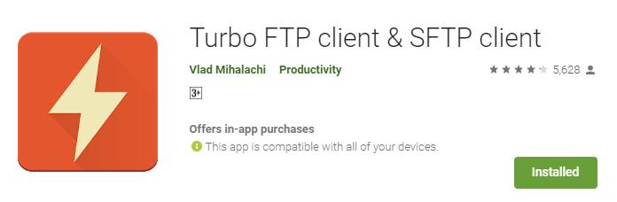 Cara Mengakses Berkas File Web dengan FTP di Android - Link