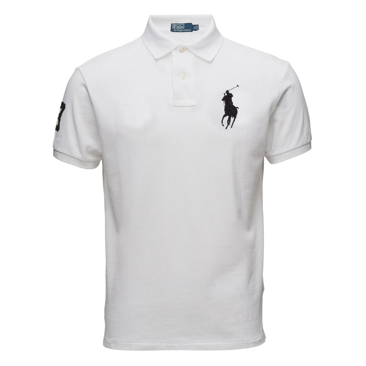 5ec7f316b6e2e Modelo  Big Pony Polo - Cor  Branco - Acesse  Camisa Polo Ralph Lauren Big  Pony