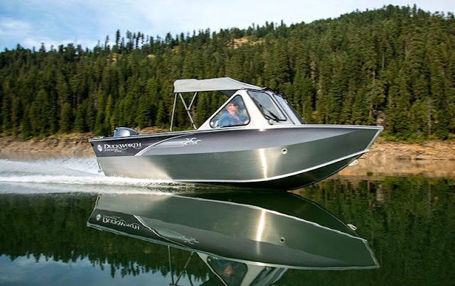 Duckworth Advantage Outboard Aluminum Boat
