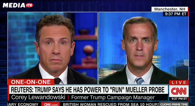 CNN's Cuomo Battles Lewandowski in Fiery Debate Over Trump-Mueller Sitdown: 'Man Up and Do It!'