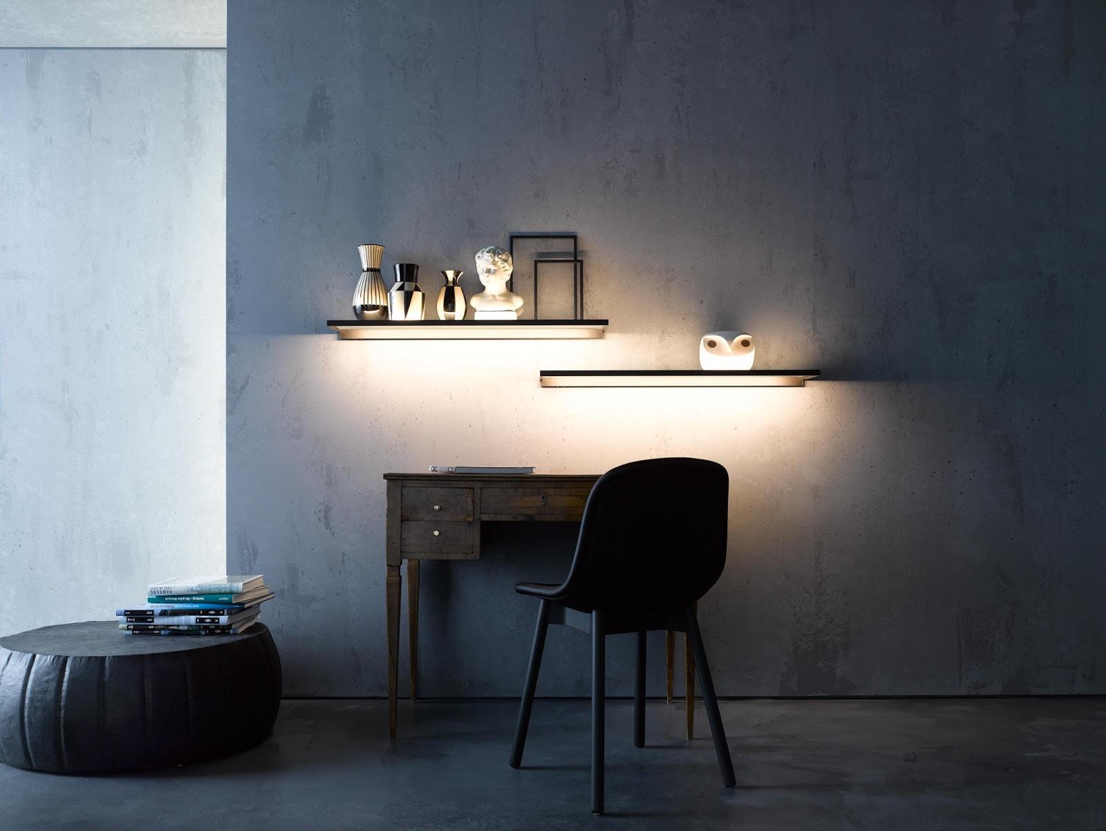 25 Amazing Shelf lighting & Wall Shelves String Lights ...
