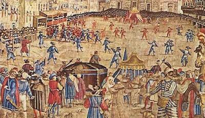 El Calcio Florentino en sus orígenes