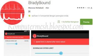 Cara Membatasi Kecepatan Download di Android