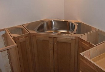 Corner Sink Cabinets