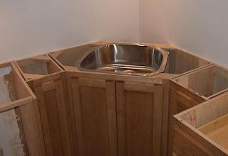 corner sink cabinet