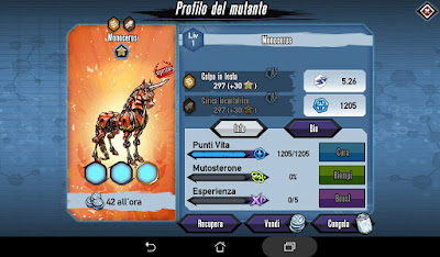 Mutants: Genetic Gladiators Breeding video N°296 (Monocerus - Robot)