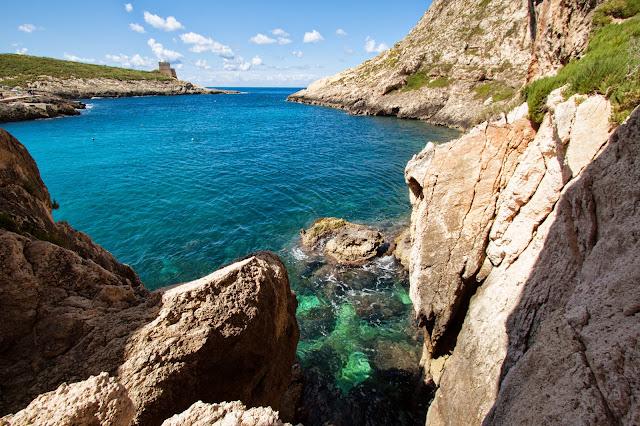 Isola di Gozo-Spiaggia di Xlendi