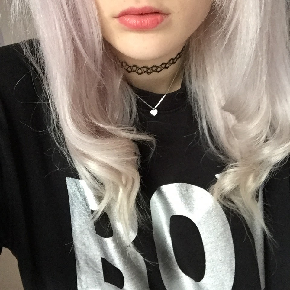 Slight pink tint to white blonde hair after using Lee Stafford Bleach Blondes