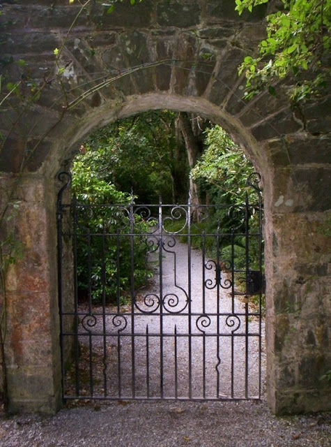 A Beautiful Garden Gate Itself