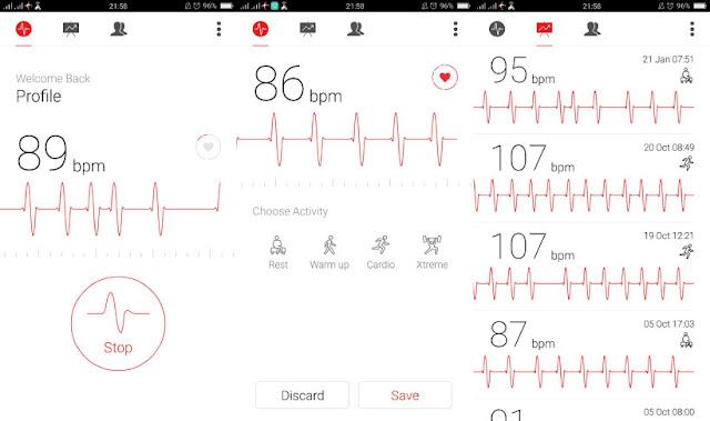 Cardiograph - Aplikasi Android Untuk Mendeteksi Detak Jantung