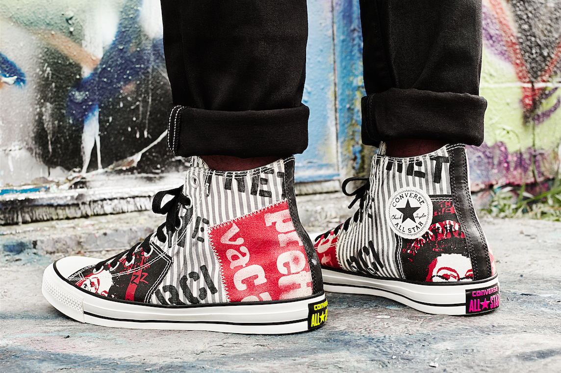 70d4954fa3e0 Converse Chuck Taylor All Star Sex Pistols Collection - Hello ...