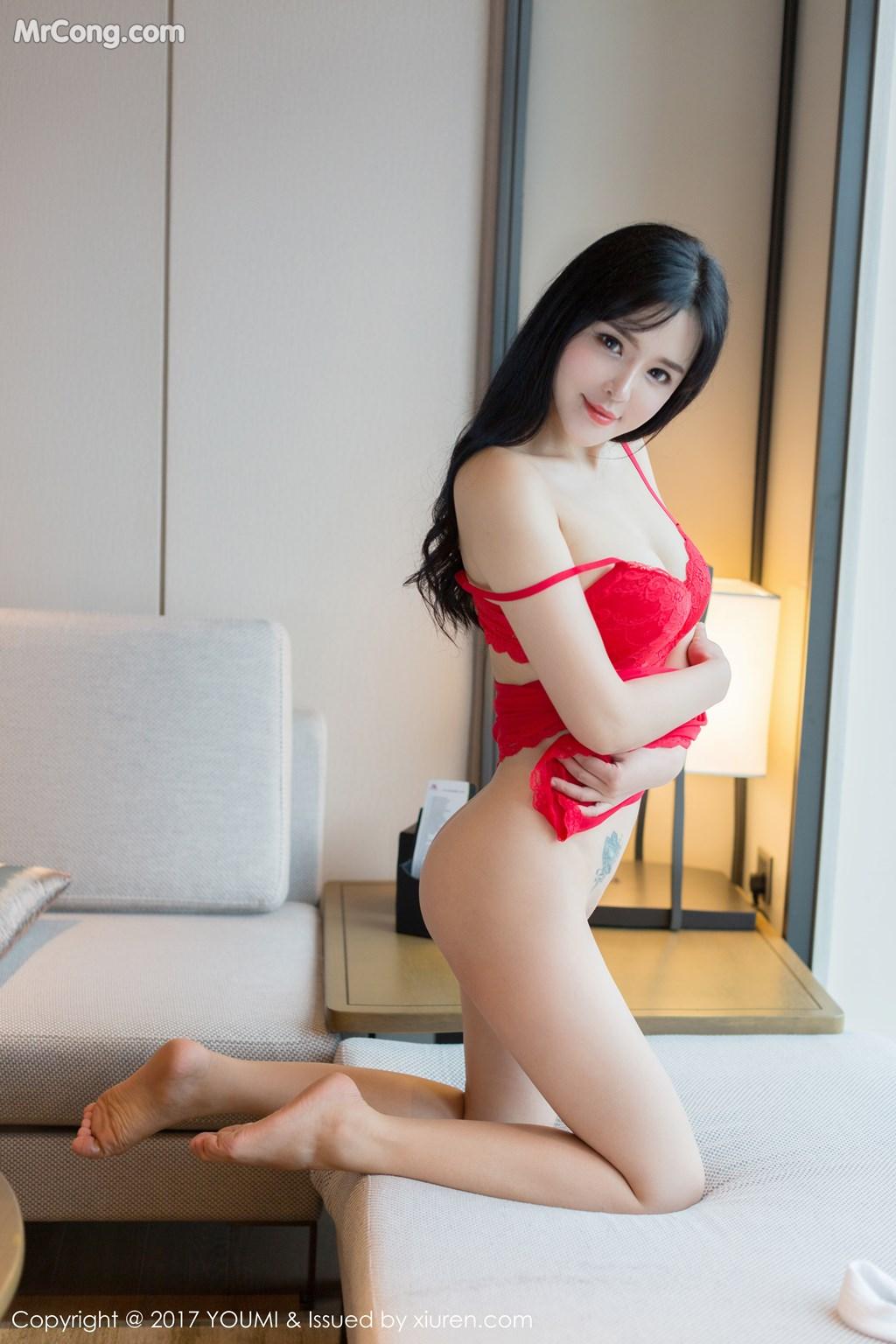 Image YouMi-Vol.064-Liu-Yu-Er-MrCong.com-015 in post YouMi Vol.064: Người mẫu Liu Yu Er (刘钰儿) (46 ảnh)