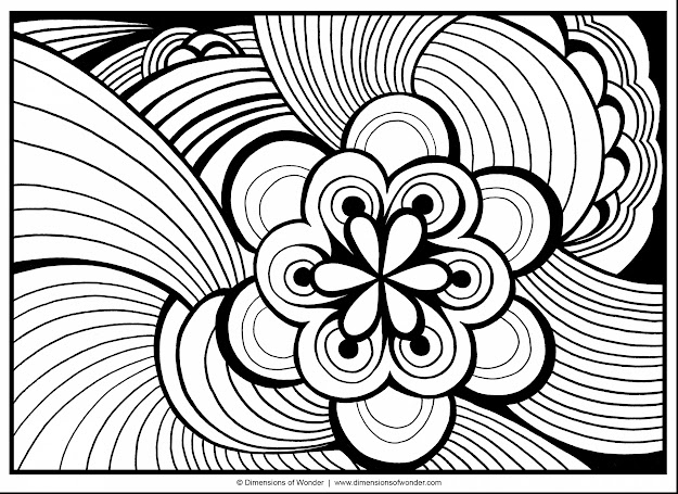 Remarkable Printable Abstract Adult Coloring Pages With Coloring Pages For  Adults And Coloring Pages For Adults