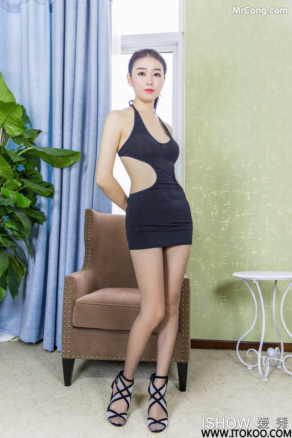 Image ISHOW-No.180-Xiao-Fan-MrCong.com-008 in post ISHOW No.180: Người mẫu Xiao Fan (小凡) (31 ảnh)