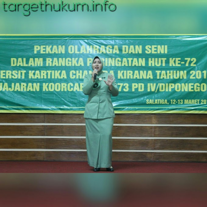 Persit Kodim 0718 Pati Menyabet Kembali Olah Vokal Juara Satu Dan Tiga (Solo Dan Duet) HUT Ke 72 2018
