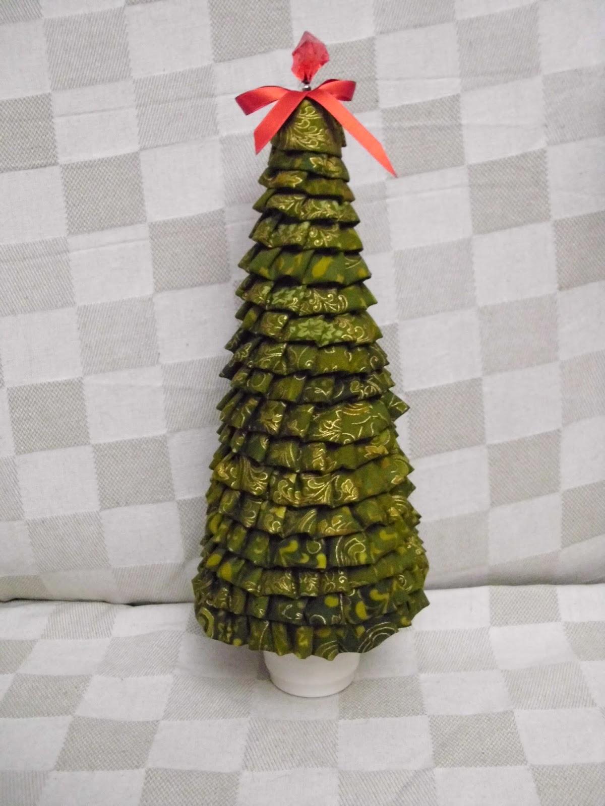 rbol navidad de tela - Arbol De Navidad De Tela