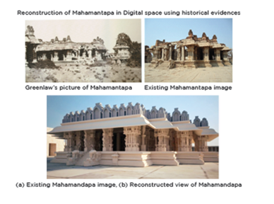 Reconstruction of Mahamantapa in Digital space using historical evidences