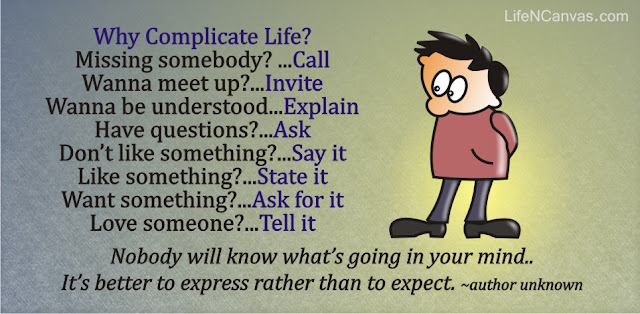 why complicate life? cartoon