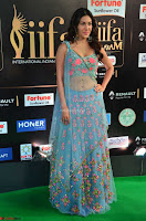 Amyra Dastur in Flower Print Choli Transparent Chunni at IIFA Utsavam Awards005.JPG