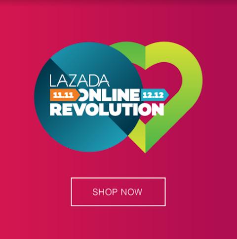"JUALAN  ""Online Revolution"" Lazada"