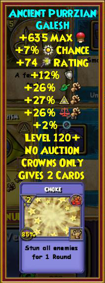 Best Myth Gear (Level 120+) | Wizard101 - Swordroll's Blog