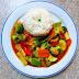 [704] Gemüse mit rotem Thai-Curry (mild)