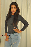 Actress Bhanu Tripathri Pos in Ripped Jeans at Iddari Madhya 18 Movie Pressmeet  0009.JPG