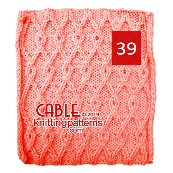 Cable Knitting Pattern 39
