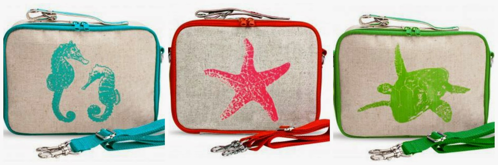 New Nautical by Nature: SoYoung Nautical lunch boxes and cooler bags BY98