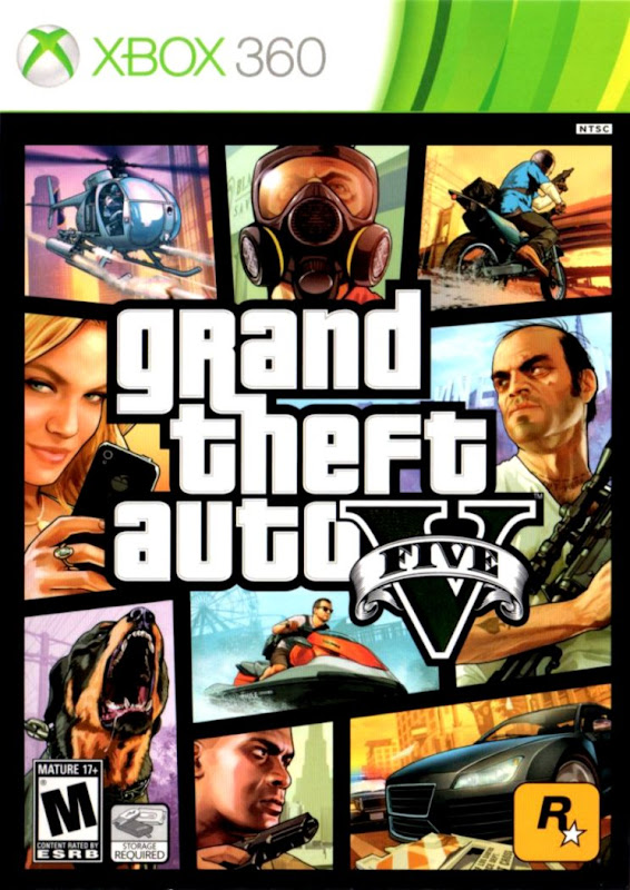 New Gta 5 Cover Xbox Wallpapers Maniac
