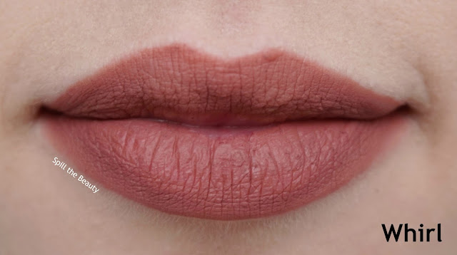 mac caitlyn jenner review swatches authentic red whirl compassion lip pencil liner whirl lip swatch