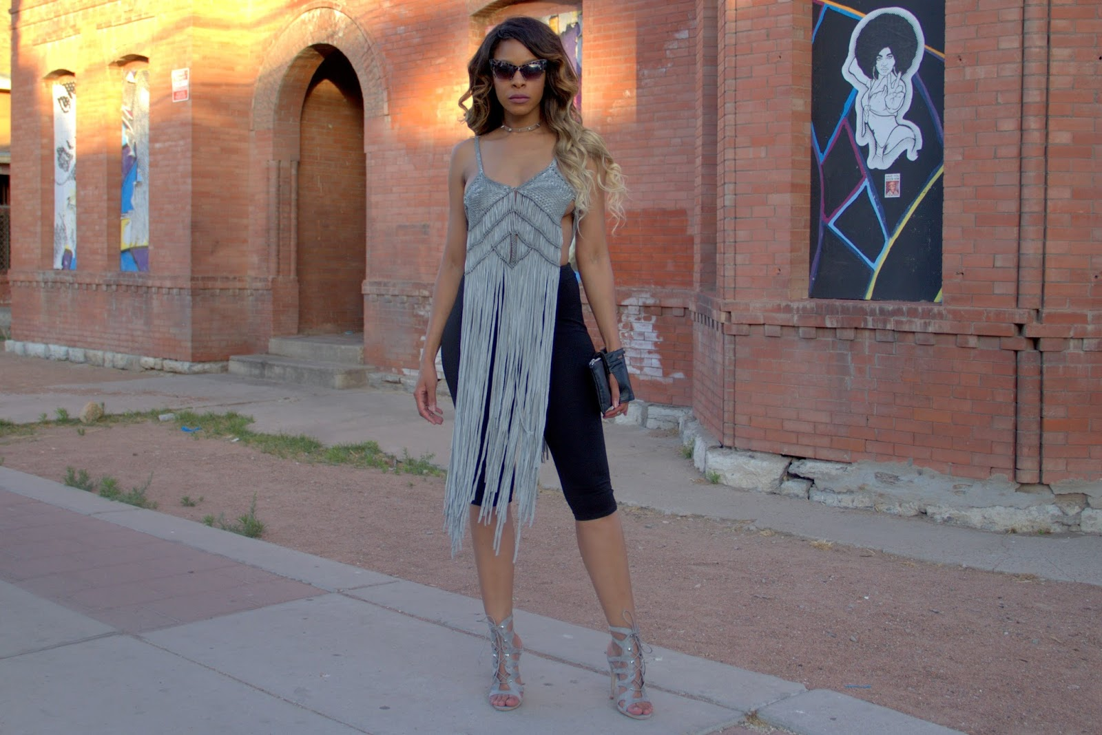 shayla drake, shayla greene, allthingsslim, festival outfit, summer outfit