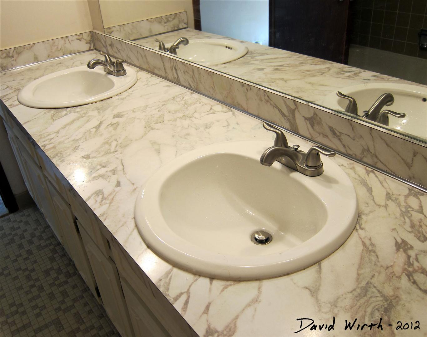 Bathroom Sink - How to Install a Faucet