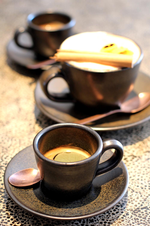 Coffee at Mexican Restaurant Ella Canta at Park Lane Intercontinental, London - UK lifestyle blog