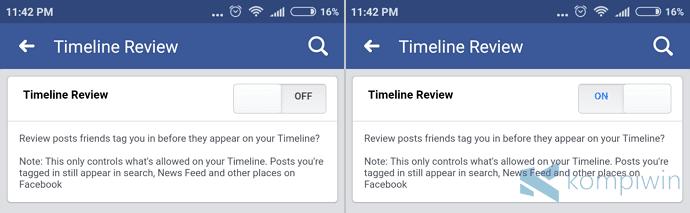 cara agar facebook kita tidak bisa di-tag