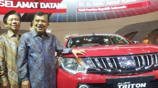 Mitsubishi bintaro on GIIAS 2015