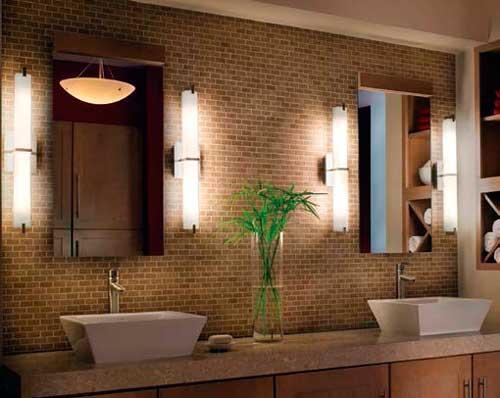 Instalaciones eléctricas residenciales - Iluminación en el baño