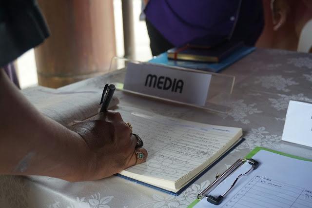 Pendaftaran pihak media
