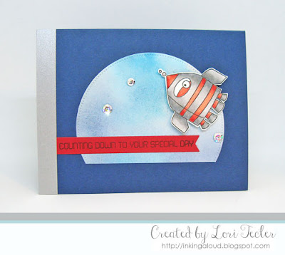 Counting Down to Your Special Day card-designed by Lori Tecler/Inking Aloud-stamps and dies from My Favorite Things