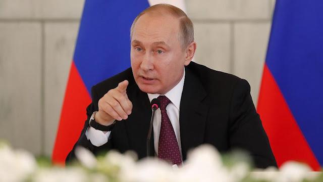 بوتين محاربة الإرهاب الدولي في سورية أولوية مطلقة.