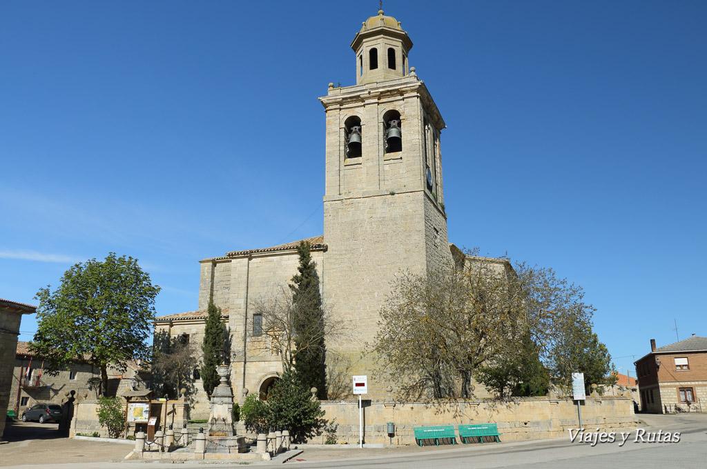 Iglesia de la Asunción, Olmillos de Sasamón, Burgos