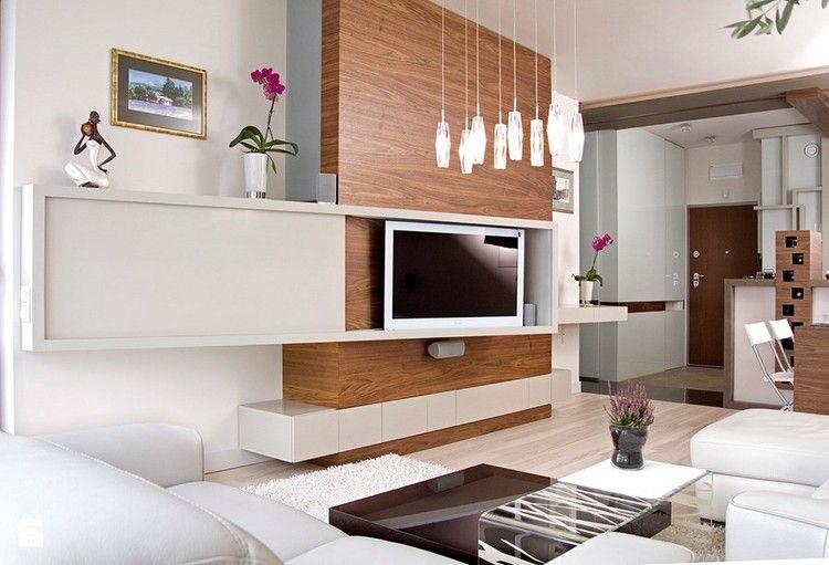 Salas modernas con muebles de tv centro entretenimiento for Mueble minimalista